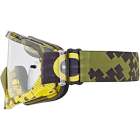 O'Neal B-10 Goggles, pixel neon yellow/green-clear
